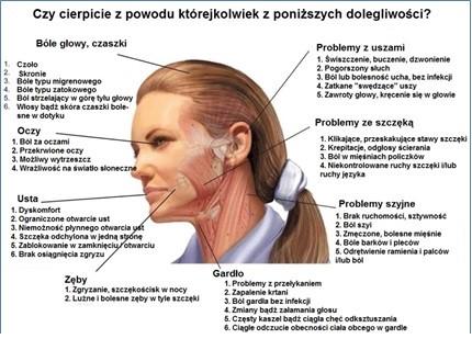 Znalezione obrazy dla zapytania staw skroniowo-żuchwowy